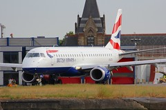 ERJ-190 G-LCYU London City 28.06.18-1 (jonf45 - 4 million views -Thank you) Tags: london city airport eglc lcy airliner civil aircraft plane aeroplane flight aviation june 2018 erj 190 emb ba baw cfe british airways cityflyer embraer erj190sr glcyu