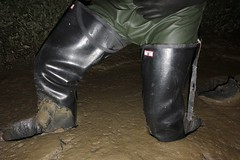 Mud! (essex_mud_explorer) Tags: waders watstiefel thigh rubber rubberboots rubberwaders thighwaders thighboots gummistiefel rubberlaarzen hunter gates uniroyal coarsefisher black mud muddy mudflats creek estuary tidal river matsch schlamm boue