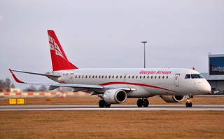 Embraer 190-100IGW  4L-TGV — Georgian Airlines