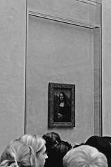 (Selin_S) Tags: france louvre museum leonardo davinci history harmony holiday naturel new beautiful blackandwhite blackwhite moment monochrome mona lisa monalisa amazing awsome art daily decoration dream masterpiece paint painting people