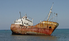 RUN AGROUND (docspotter) Tags: aground