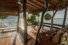 Time to relax (good.fisherman) Tags: pier jetty water bay coastline moored marina horizon over seascape thailand phiphi travel relax