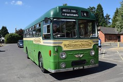 MOR581 543 Aldershot&District AEC Reliance (graham19492000) Tags: busrally mor581 543 aldershotdistrict aecreliance