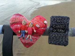 A Jolly Good Read knitted romance