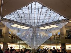 Reflets Pyramide inversée (Raymonde Contensous) Tags: ieohmingpei paris pyramidedulouvre architecture reflets pyramideinversée vitrine
