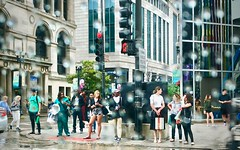 Chicago, 2018 (gregorywass) Tags: street city chicago michigan avenue rain weather corner july 2018 summer