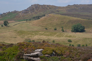 The Roaches, Peak District National Park, Staffordshire, England.