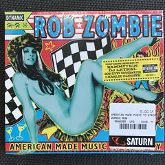 Rob Zombie - American Made Music To Strip By - Compact Disc (firehouse.ie) Tags: americanmademusictostripby whitezombie zombie longplay albums album tunes songs track tracks singers singer saturn geffen group band heavy popmusic rockmusic rock muiscian music digital recordings recording records record compactdiscs cds compactdisc cd robzombie