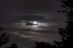 Moon and Night Clouds I (dckellyphoto) Tags: moon clouds night atmosphere virginia fallschurch 2018 dark ef75300mmf456