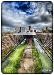 Belfast - Titanic Quarter Museum (tatianalovera) Tags: nomadic irlanda ireland northernireland nave boat belfast titanic
