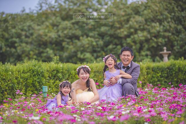 全家福,親子寫真,淡水莊園婚紗基地,攝影師,造型師
