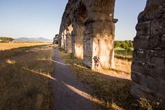 (sga77) Tags: parco degli acquedotti photography summer photo archs road acquedotto light shadow sky rome hill ancient