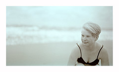 netherland (rcfed) Tags: hasselblad mediumformat film trix tanol stain sea cloud sand wave portait