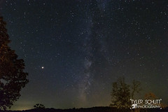 Milky Way and Mars (TylerSchlittPhotography) Tags: mowx flickr space art canon photography astronomy astrophotography milkyway stars mars amazing nightphotography night sky