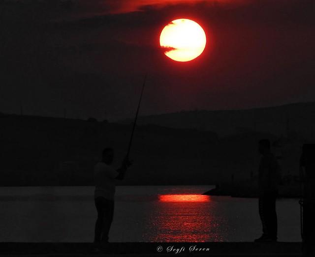 Bandırma'da Akşam . . .