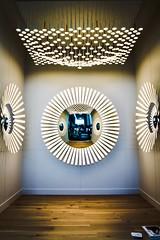 AC7A5738-4F42-4F1C-9B46-9D5AA040B893 (Kathi Huidobro) Tags: atterns reflection mirror productdesign interiordesign circles walllights pendantlighting pendant oled architecture architecturallighting innovation lightingdesign lighting