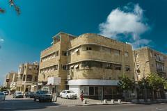 Bauhaus architecture in  Haifa (jonarnefoss2013) Tags: rx100v israel telaviv bauhaus