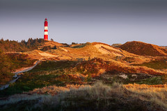 Leuchtturm Amrum (O.I.S.) Tags: amrum lighthouse island insel nordsee north sea meer sommer summer süddorf nebel sonnenuntergang sunset golden hour goldene stunde canon 5d mkii 70200 f4 leuchtturm schleswigholstein deutschland germany