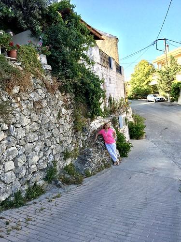 Walking the streets of Siva, Crete