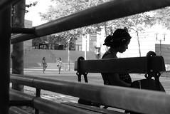 Banc (Gérard Barré) Tags: decisive moment street portrait scene girl boy photographie soul faces creatives camera eye lens montpellier france city candid people gens rue musée museum plage beach concert group groupe dog chien animal love glasses legs selfie art streetshooter shot
