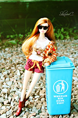 garbage (КристинаCristina) Tags: integrity toys fashion royalty poppy parker doll dollphotographer dollcollector barbie barbiedoll positivly plaid