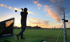 The Golfer! (mario pinho) Tags: capetown cape town canon powershot g7x golf sunset clouds pordosol africa africadosul southafrica river club