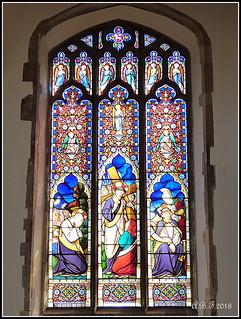 Stained Glass Window, Dedham Church