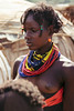 deep in thought (rick.onorato) Tags: africa ethiopia omo valley tribes tribal dassanech girl