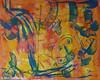 Zwischenzeit (Monika Seelig) Tags: 2017 monika carbon watercolor kunst kreide art monikaseelig mixedmedia