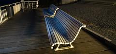 zurück (krieger_horst) Tags: bänke nachtaufnahme sellin rügen weitwinkel seebrücke holz pflaster
