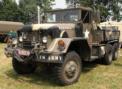 M52A2 (Schwanzus_Longus) Tags: bockhorn german germany old classic vintage vehicle truck lorry flatbed trailer tractor semi military army us usa america american kaiser jeep m52 a2