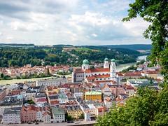 View of Passau, Germany (Referenceace - Working!) Tags: 2018 cruise danube europe germany micro43 mirrorless panasoniclumixg5 passau travel viking m43