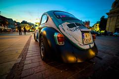 Classic VW Beetle (maciej_urbanowicz) Tags: poland polska streetphoto streetphotography warsaw warszawa architecture summer weekend pl classic vw beetle car colors colorful vehicle evening turist travel