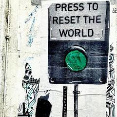 Time to unwind London style ... just press the reset button - It's an option... #streetart #graffiti #bricklane #london #londonstreetart #pasteup #resettheworld #streetarteverywhere #gainsborogal (artsyschmartzy) Tags: ifttt instagram time unwind london style just press reset button it's an option streetart graffiti bricklane londonstreetart pasteup resettheworld streetarteverywhere gainsborogal