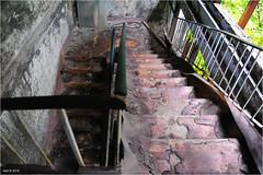 A Pripyat Hospital's Staircase (Aad P.) Tags: chernobyl чорнобиль pripyat припять ukraine україна sovietunion cccp nuclearpowerplant radioactivity radiation urbex urbexphotography exclusionzone hospital staircase