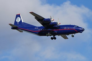UR-CNT Ukraine Air Alliance Antonov AN-12