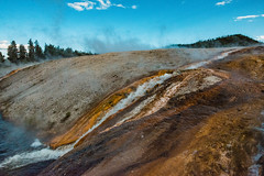 Grand Prismatic Spring-15.jpg (VoxLive) Tags: grandprismaticspring mountains geiser yellowstone travel grandtetons nationalparks