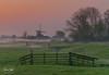 Sunrise Aarlanderveen 5 (M van Oosterhout) Tags: sunrise sun zonsopkomst nederland netherlands holland dutch alphen aan den rijn aarlanderveen windmill molen