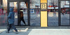 Royalto (8pl) Tags: café rue piéton berane montenegro matin passant ombre chaises vitrine