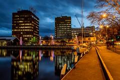 Constitution Dock, Hobart (jenni 101 - basically off until July) Tags: 2852 52weekchallange constitutiondock hobart tasmania longexposure photographybyjen sigmaart18