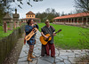 Un air  de musique !!! (musette thierry) Tags: archéosite architecture musique instrument musée fevrier walonie d800 nikon guitar 28300mm temple romain parc belguim blegique hainaut