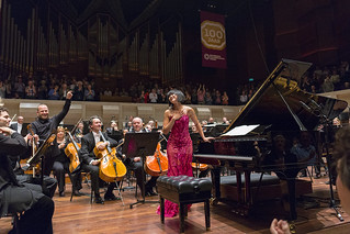 Roars of Applause for pianist Yuja Wang