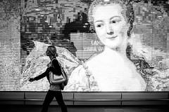 Gaze 318 365 (ewitsoe) Tags: 50mm canoneos6dii ewitsoe rain street warszawa erikwitsoe night summer urban warsaw background ad woman lady mono monochrome bnw blackandwhit ecity canon