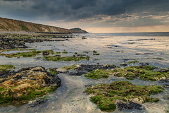 Incoming tide at West Runton. (andybam1955) Tags: beach landscape tide eveninglight coastal westrunton sky northnorfolk rural evening norfolk sea