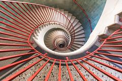 schneckotičnik [II] (dadiolli) Tags: ljubljana slowenien si wideangle spiral staircase wendeltreppe treppenhaus treppe stairs nebotočnik nebotocnik slovenia