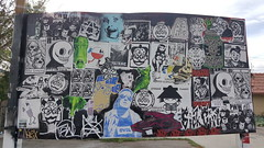 20180721_174405 (reasonableusername) Tags: graff graffiti downtown down town las vegas spray paint art arts district gallery new recent fresh pieces today yesterday street freights freight train trains yard wall
