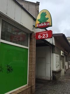 Zabka super market, Koński Kierat, Szczecin Poland.  July 12 2018.