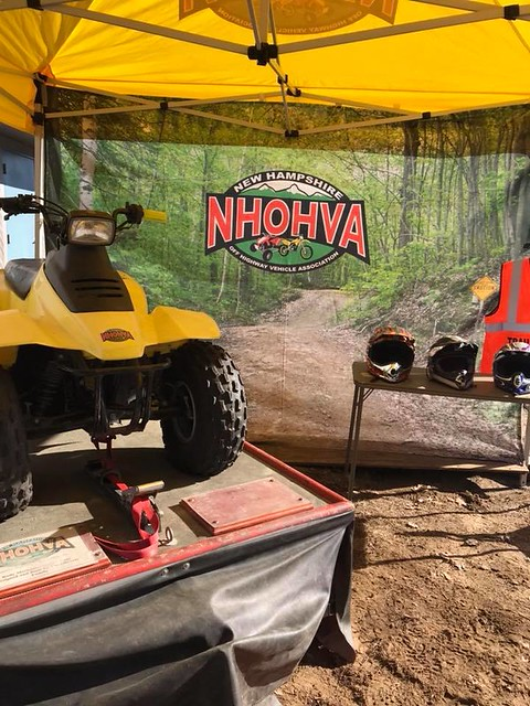 NHOHVA simulator all ready to go at Unity Old Home Day 7/21/18