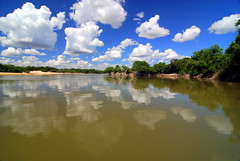 The Sky and the River (Yalila Guiselle) Tags: bitariver vichada colombia sky clouds scenic landscape