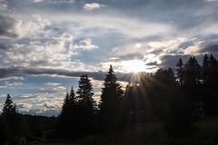 Pozza di Fassa (HSlights) Tags: pozza valdifassa fassa montagne montain tramonto prati dolomiti fuji xh1 panorama paesaggio landscape cielo